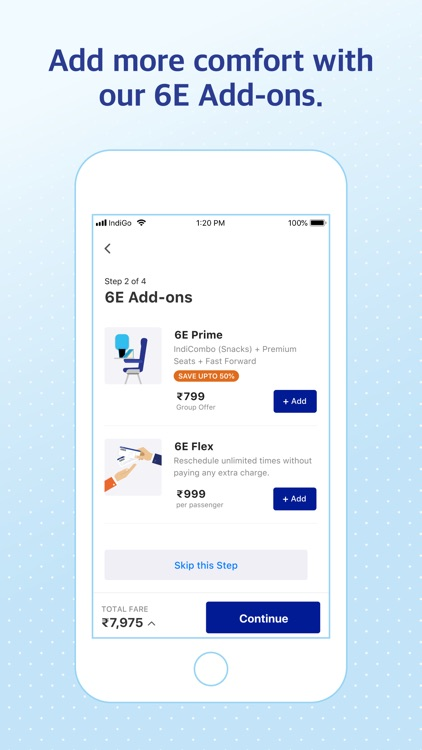 IndiGo | Flight Booking App