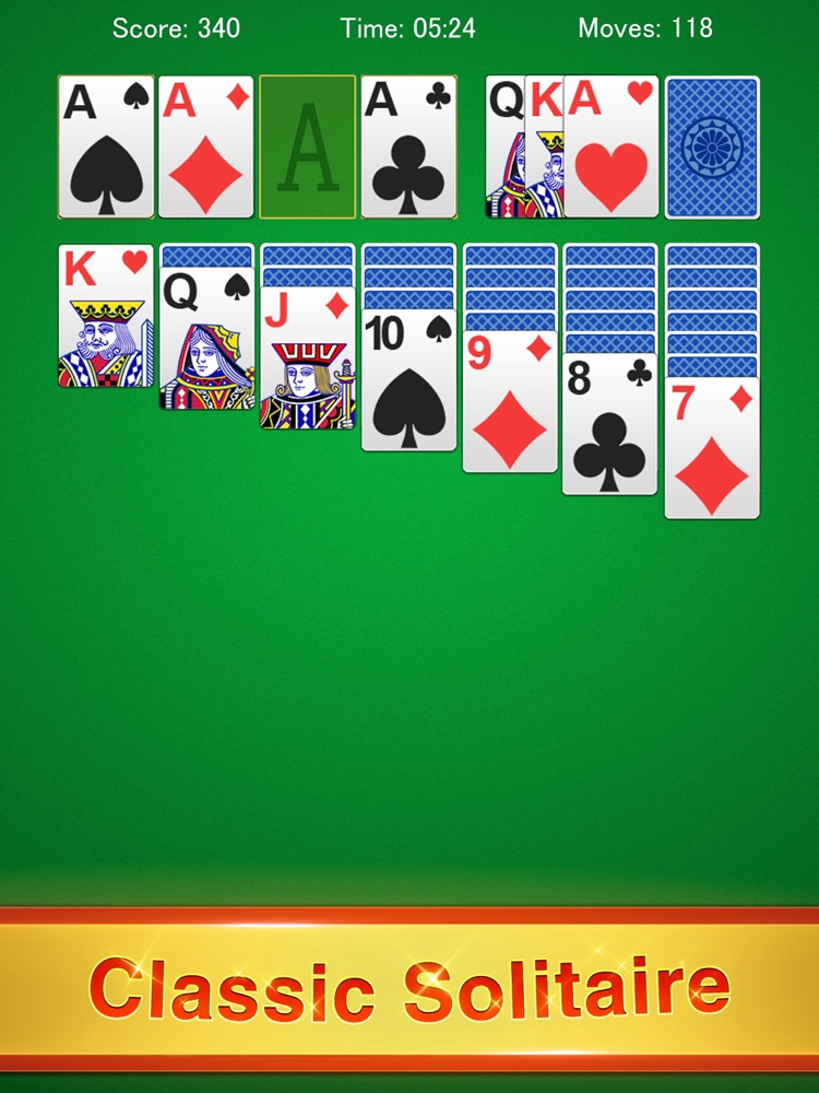 Solitaire Classic Games App for iPhone - Free Download Solitaire Classic Games for iPad & iPhone