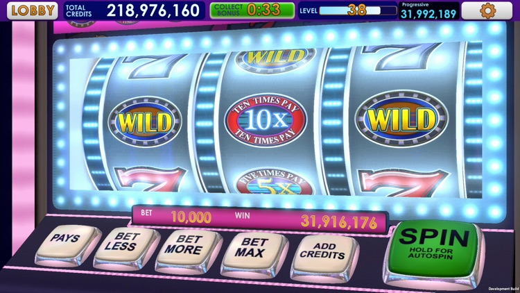 Triple 7 Deluxe Classic Slots screenshot-7