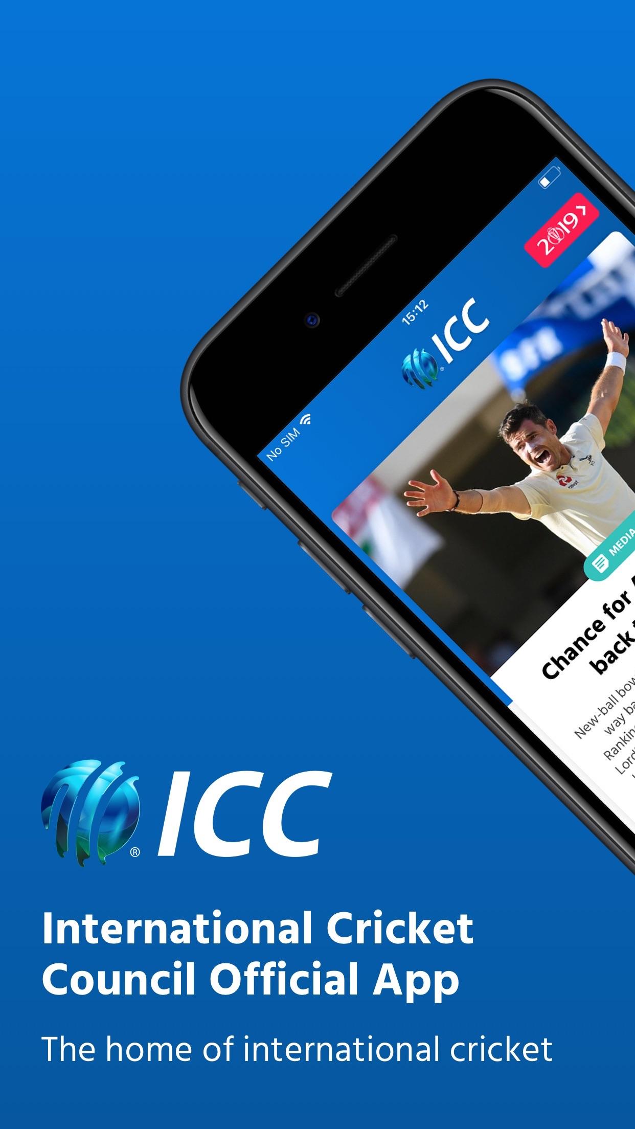 ICC Cricket Screenshot