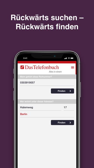 Das Telefonbuch: mobile GuideScreenshot von 3