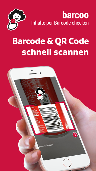 Screenshot for barcoo - QR & Barcode Scanner in Germany App Store