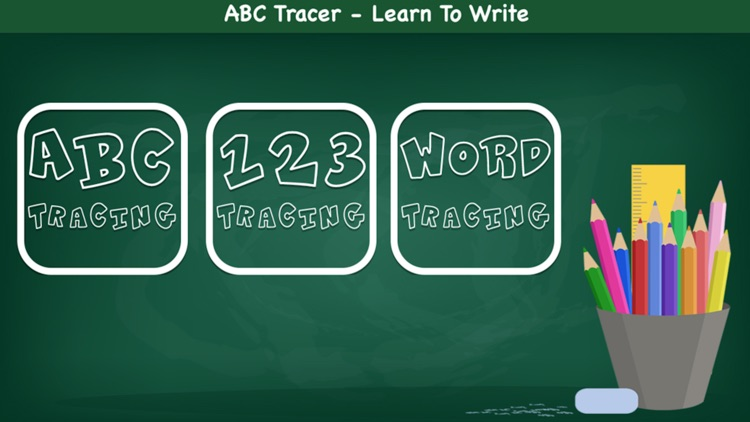 ABC Tracer- 123 Learn to Write