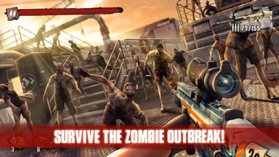 Screenshot for Zombie Frontier 3: Sniper FPS in Romania App Store