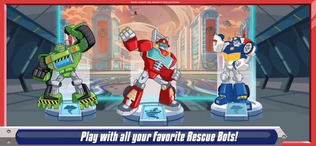 Transformers Rescue Bots: Dash on the App Store