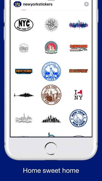New York emojis - USA stickers screenshot 2