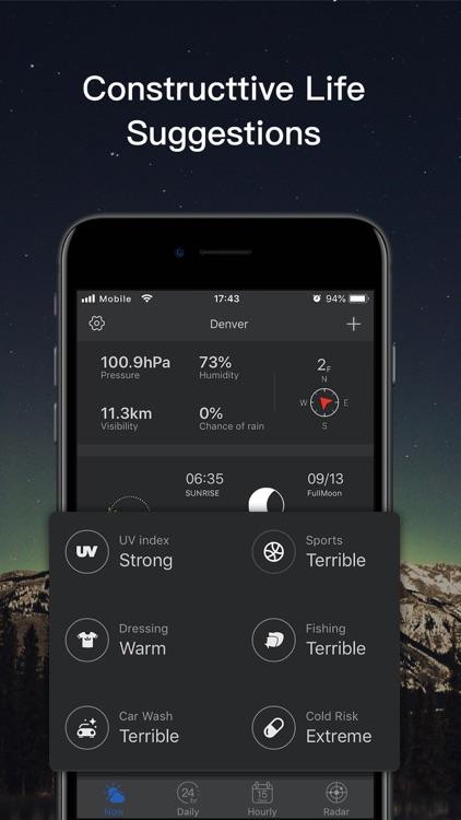 Weather-Dark Mode Weather App screenshot-4