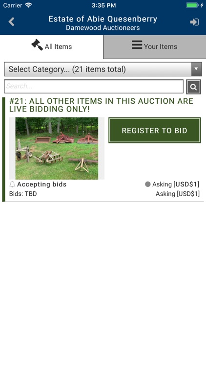 Damewood Auctioneers screenshot-3