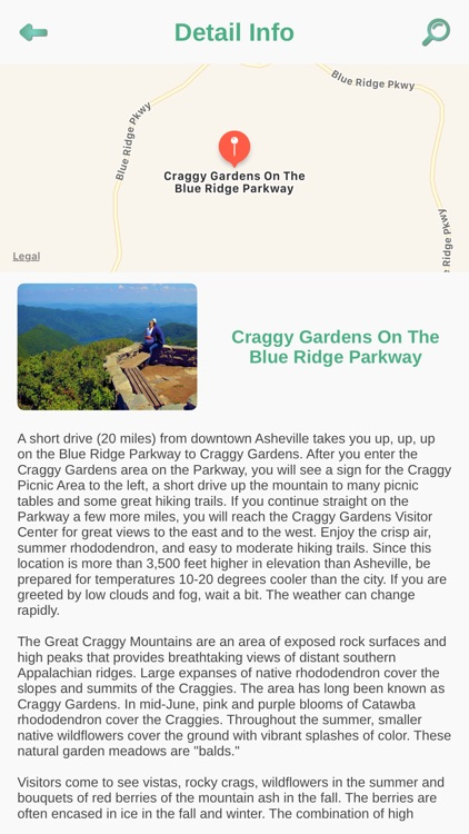 Blue Ridge Parkway Best Stops screenshot-2