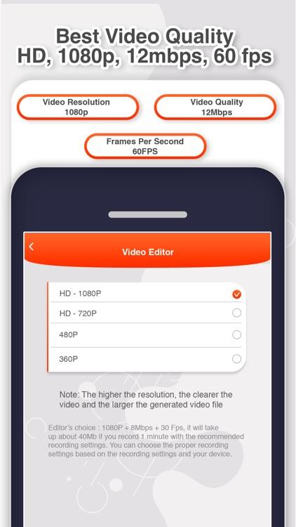 Screen recorder - RecPro screenshot-4