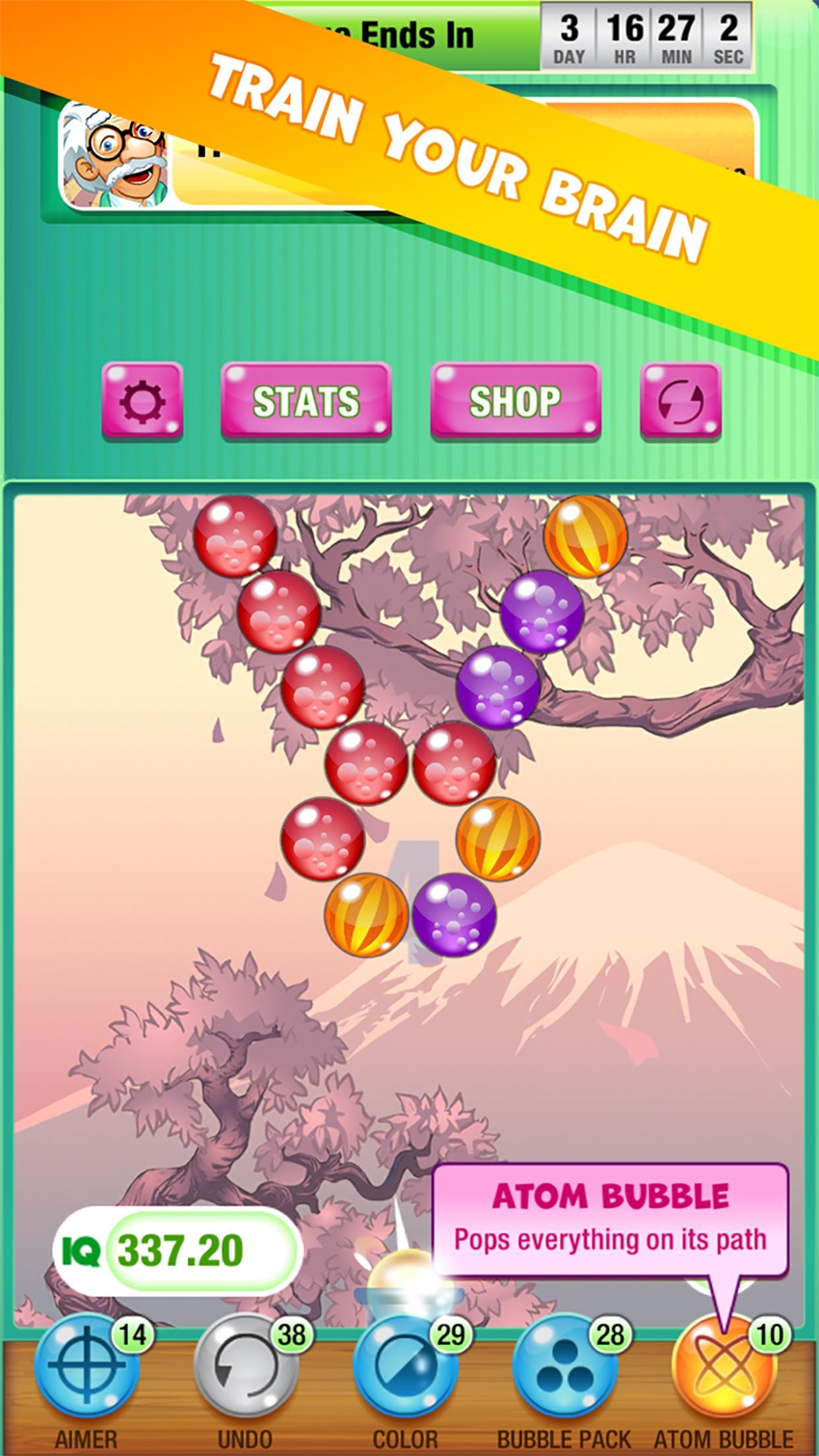 Bubbles IQ Screenshot