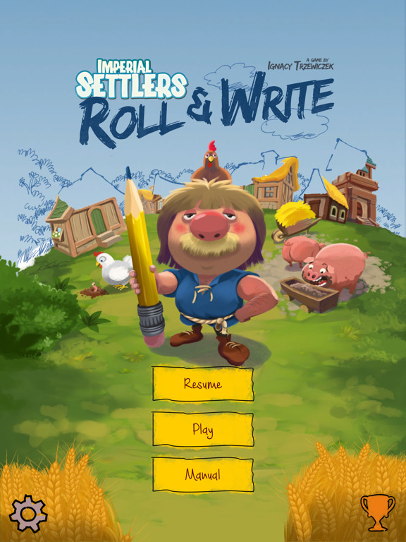 Imperial Settlers Roll & Write на iPad