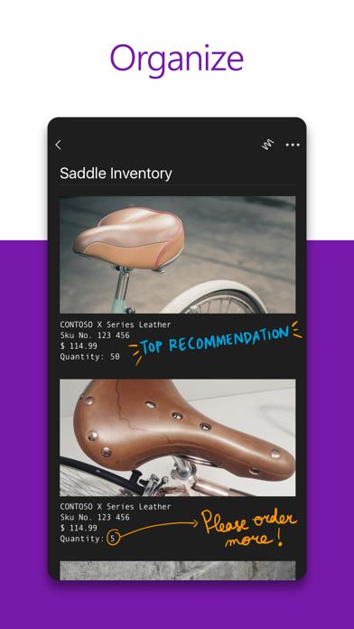 Microsoft Onenote review screenshots