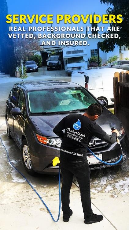 MobileWash Car Wash On-Demand screenshot-3