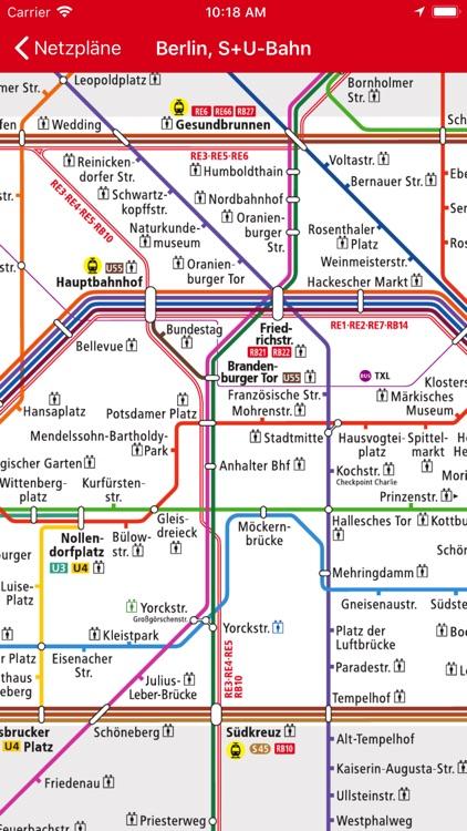 VBB Bus & Bahn screenshot-4