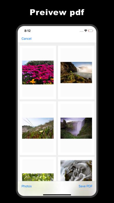 HaloPDF - photo to pdf Screenshots
