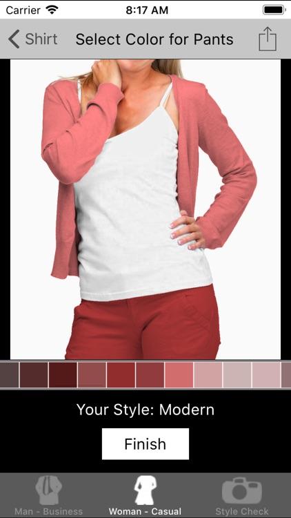 Dress Guide - Color Matching screenshot-3