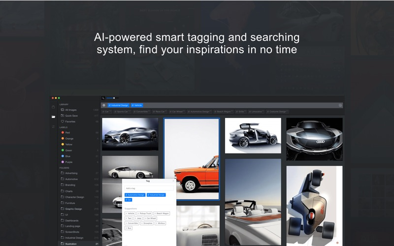 References.Design Screenshot