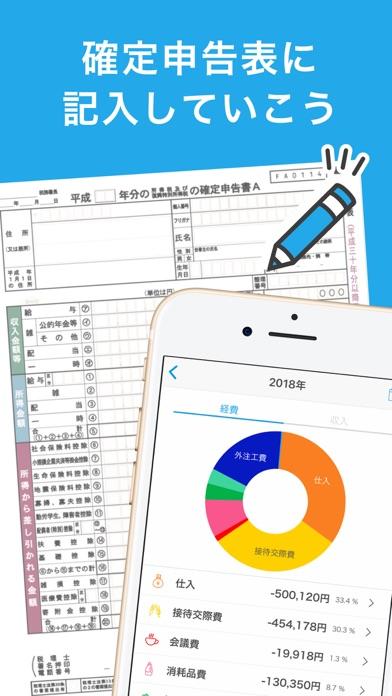 確定申告はKaikei会計ソフト - 確定申告&青色申告 ScreenShot2