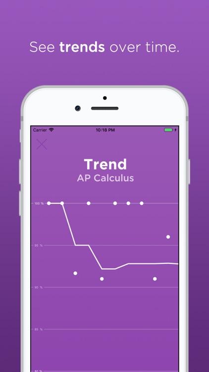 Grades - View your scores screenshot-5