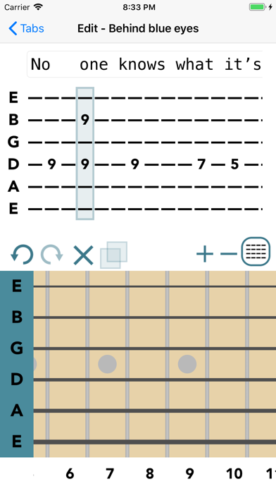 Guitar Tab Maker screenshot one