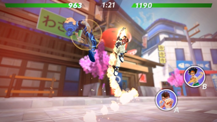 uFighter: 3D PvP Fighting Game screenshot-5