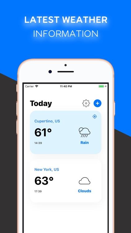 CleanTemp - Weather Forecast