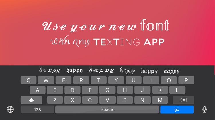 Fonts Keyboard & Cool Art Font screenshot-4
