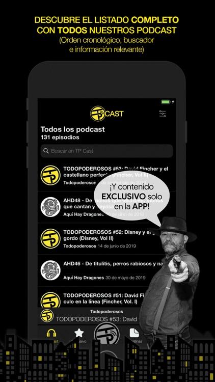 TP Cast - por Todopoderosos screenshot-5