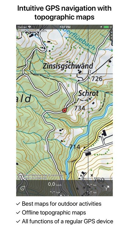 Topo GPS Switzerland screenshot-1