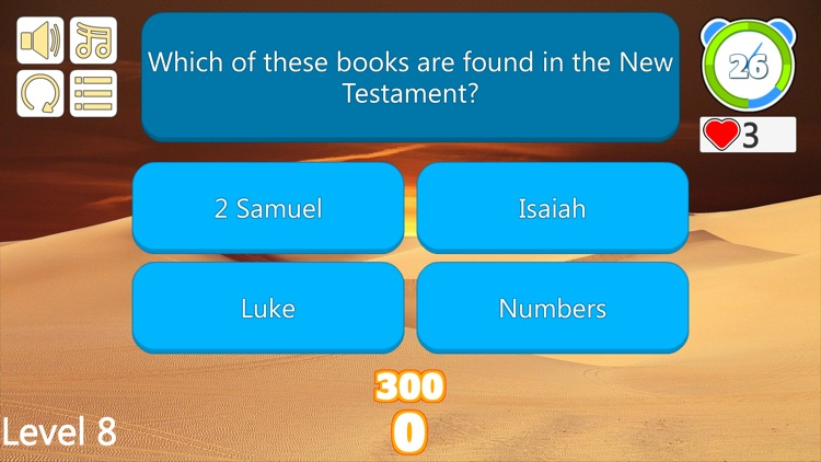 Bible Trivia Quiz Questions screenshot-7