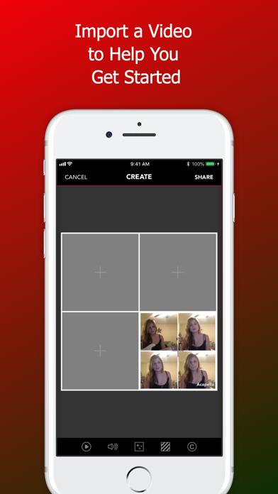 Acapella from PicPlayPost app image