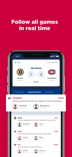 Montréal Canadiens on the App Store