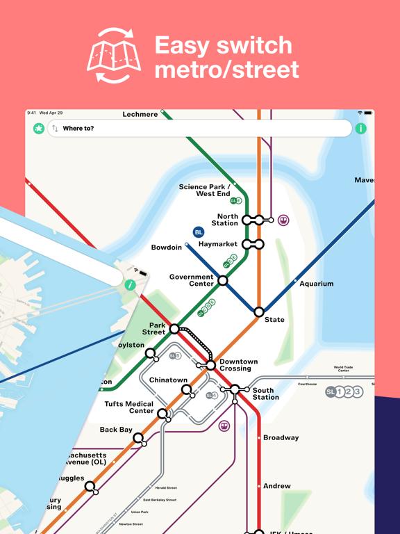 Boston T Map - MBTA subway map | App Price Drops