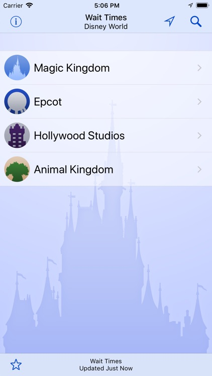 Wait Times for Disney World screenshot-2