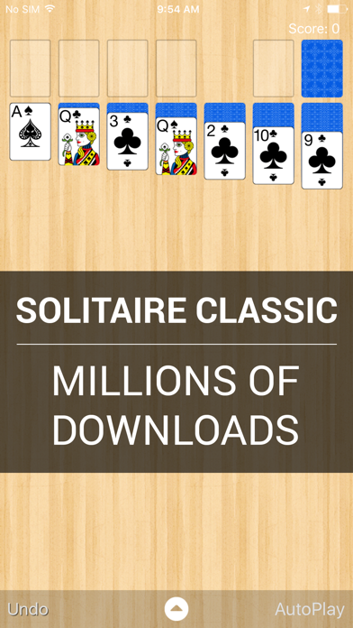 Solitaire Classic screenshot one