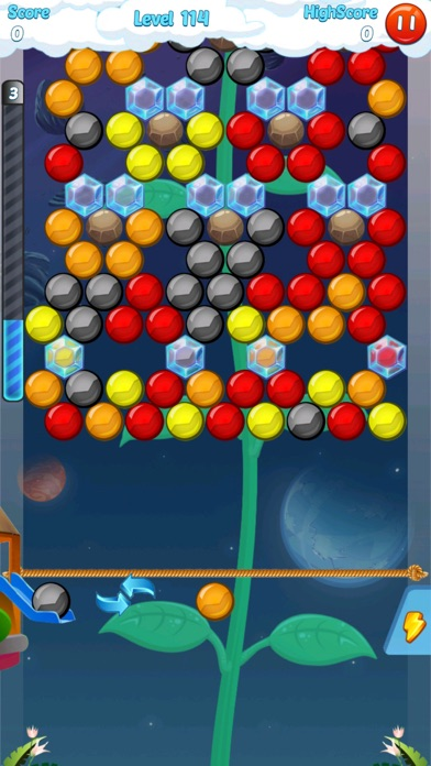 Screenshot of Bubble Shooter 3.0 World2