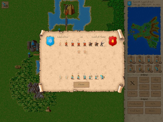 Screenshot #5 pour Warlords Classic Strategy