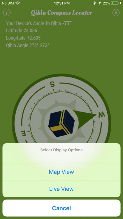 Qibla Compass Locator screenshot-2