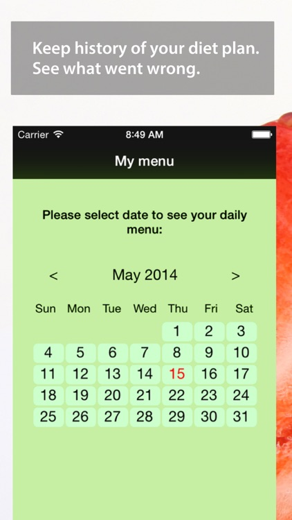 Easy Calorie Counter / Tracker screenshot-3