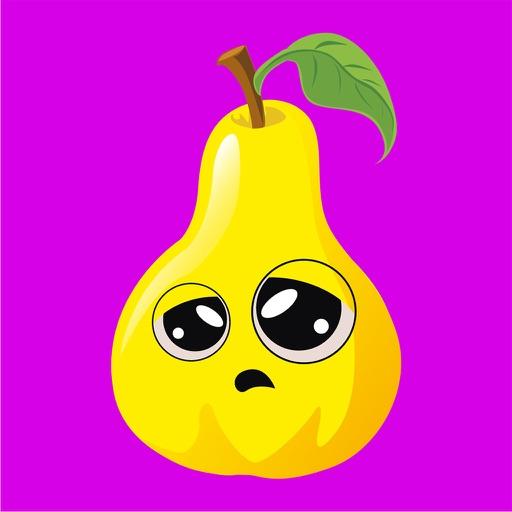 babie fruice emoji stickers