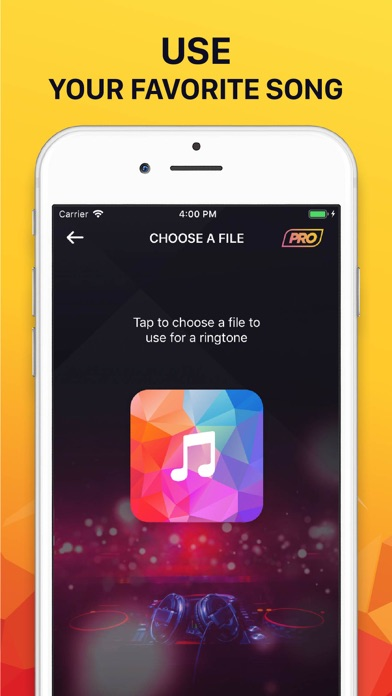 Ringtones for iPhone (Song) Screenshot