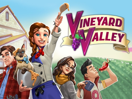 iPad Image of Vineyard Valley: Design Game