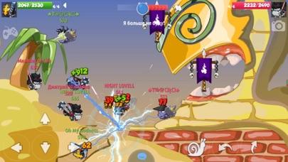 Скриншот №4 к Wormix Онлайн ШутерСтрелялки