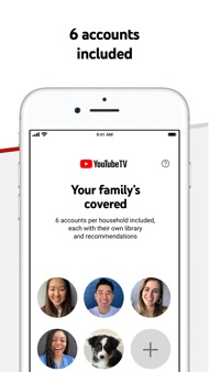 YouTube TV iphone images