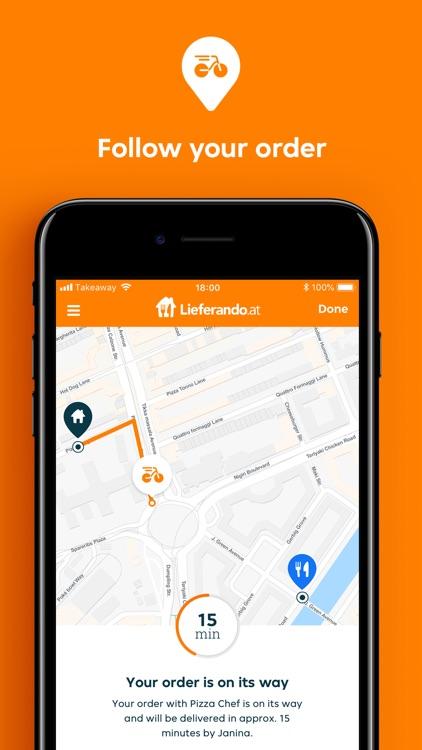Lieferando.at Order Food screenshot-3