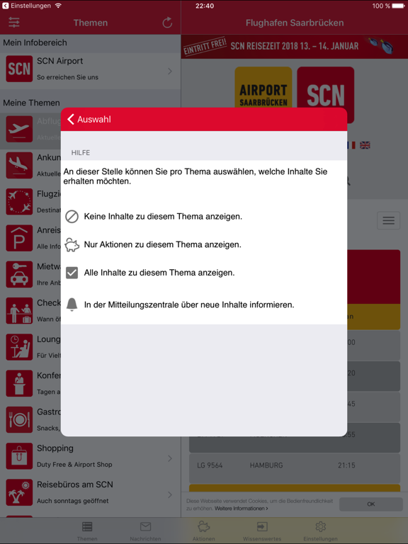 Screenshot #6 pour SCN Airport