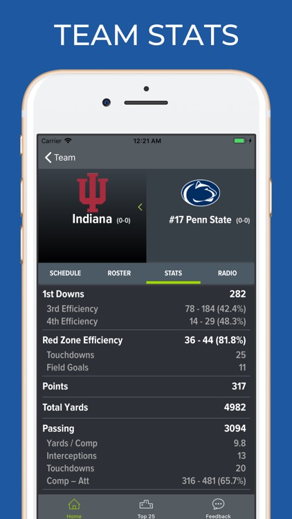 Indiana Football Schedules screenshot-4