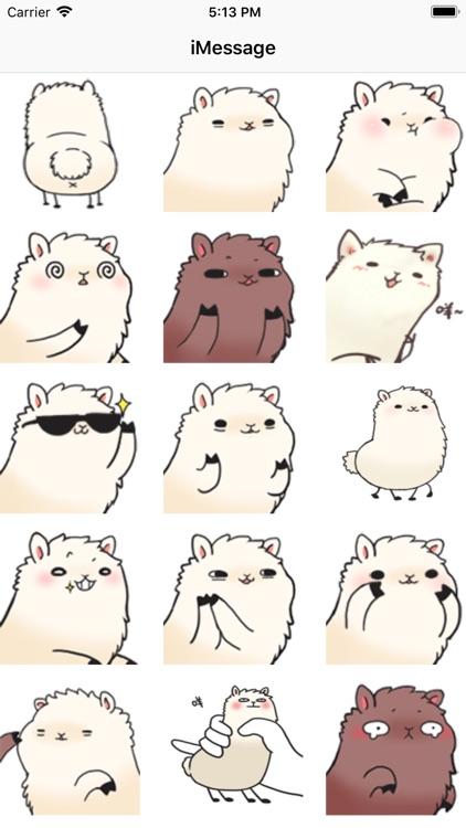 Cute alpaca avatar