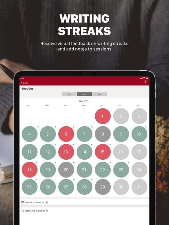 Word Keeper - Writing Tracker Screenshots